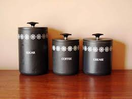 black canister sets for kitchen decorative black canister sets for kitchen lulaveatery living and