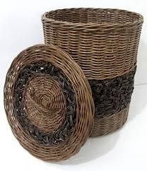 rattan laundry baskets rattan wicker hampers basketwares bin