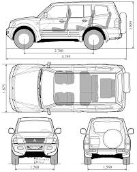 mitsubishi lancer drawing car mitsubishi pajero gls the photo thumbnail image of figure
