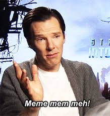 Benedict Cumberbatch Otter Meme - red scharlach points at interesting things hi i discovered your