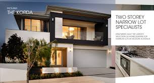 narrow lot house designs corner block house designs perth delightful 6 on narrow lot homes
