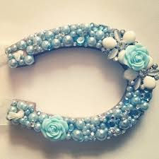 horseshoe wedding gift lucky horseshoe wedding gift something blue flower and pearl