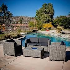 patio ideas outdoor wicker patio furniture costco outdoor wicker