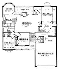plan42 country style house plan 3 beds 2 baths 1478 sq ft plan 42 469