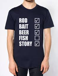 rod bait fish story mens tshirt womens top t