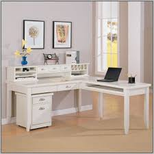 White L Shaped Desk Best 25 L Shaped Desk Ideas On Pinterest Office Desks Regarding