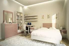 grand tapis chambre fille design interieur chambre enfant petit espace grand lit coussins