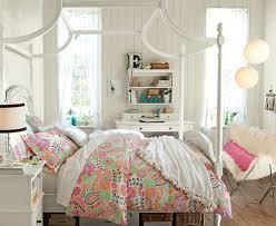 decor for teenage bedrooms modern canopy bed girls room design