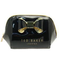buy ted baker womens black jillie make up bag at hurleys