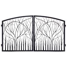 iron gates entrance nature design gi1401 artfactory house