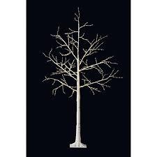 buy lewis pre lit birch twig tree white 6ft lewis