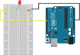 Led Blinking Circuit Diagram The Arduino Led Blink Tutorial Australia