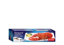 cuisiner homard surgelé homard canadien entier cuit surgelé gamme poissons crustacés sur