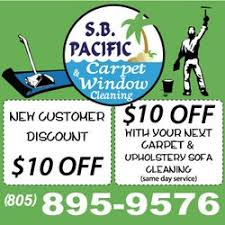 upholstery cleaning santa barbara s b pacific carpet window cleaning carpet cleaning 430 w ortega