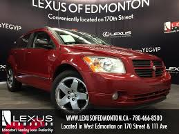 used red 2009 dodge caliber hb sxt review edson alberta youtube