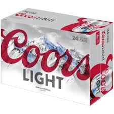 coors light sugar content coors light beer 24 12 fl oz cans walmart com
