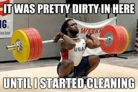 Burpees Meme - my first crossfit 3 rounds for time 15 hang cleans and burpees
