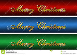 merry christmas gold glossy logos stock photography image 25745962