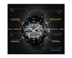 Jam Tangan G Shock Pria Original jual skmei jam tangan pria cowok analog led bezel casio g shock baby