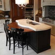 half table for kitchen wooden kitchen island top neat idea adding a round half table top