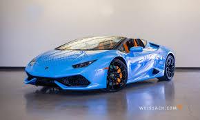 Lamborghini Huracan Blue - 2016 lamborghini huracan spyder lp610 4 lamborghini calgary