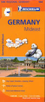 Erfurt Germany Map by 544 Michelin Regional Germany Mid East Germany Maps Where