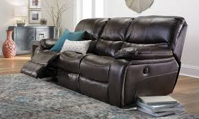 Lazy Boy Sofas Leather Living Room Newport Power Reclining Sofa Leather Haynes
