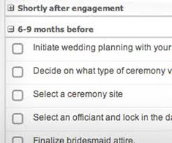 wedding checklist wedding planning checklist budget planner mywedding
