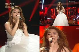 wedding dress song 대유다 feed your hallyu daily needs ailee stunned the fans with