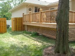 mike jansen custom cedar decks composite u0026 cedar deck products