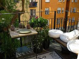 Patio Inspiration by Decorations Enjoyable And Airy Small Balcony Design Inspiration