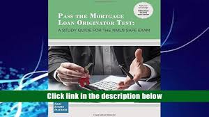 download pdf pass the mortgage loan originator test a study