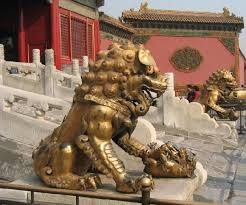 foo dogs foo dog statue since my fiance lion statues so much