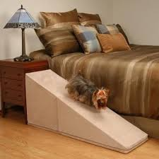 dog ramp for bed or car access u2013 play safe pet stairs