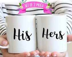 his and hers mug his and hers mugs etsy