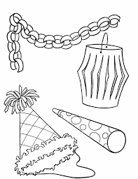 coloring pages birthday party decorations coloring pages