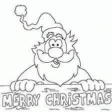 Merry Christmas Color Pages Kids Coloring Color Ins