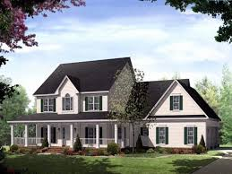 country homes with wrap around porches one story house plan wrap around porch new new country