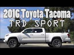toyota trd package tacoma 2016 toyota tacoma trd sport review premium technology package