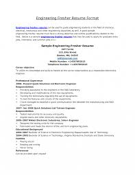 sle resume format for freshers resume how to write engineering sales engineer sle exles