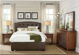 Upholstered Bedroom Furniture by Urban Plains Rustic Bedroom Furniture Collection