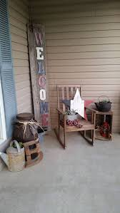 Country Star Decorations Home by Best 25 Country Porch Decor Ideas Only On Pinterest Country