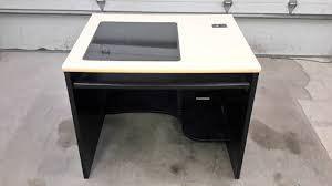 Recessed Monitor Computer Desk Nova Desk For Recessed Monitor Office Furniture Household