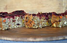 vegetarian thanksgiving entrees nut loaf with cranberry sauce a vegetarian holiday entree the