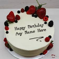 best strawberry cake for boys happy birthday wish with name name