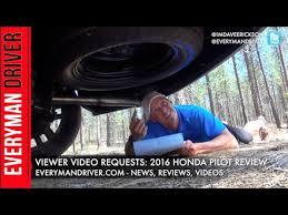 honda pilot spare tire viewer questions answered 2016 honda pilot on everyman driver