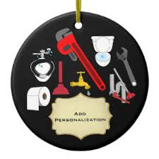 plumbing ornaments keepsake ornaments zazzle