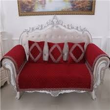 Red Sofa Slipcovers Non Slip Sofa U0026 Couch Covers Slipcover For Sofa With Chaise