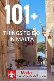 what to do in malta and gozo 101 ideas