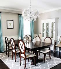 Moroccan Crystal Chandelier Dinning Rooms Formal Dining Room With Dark Table And Wood Chairs